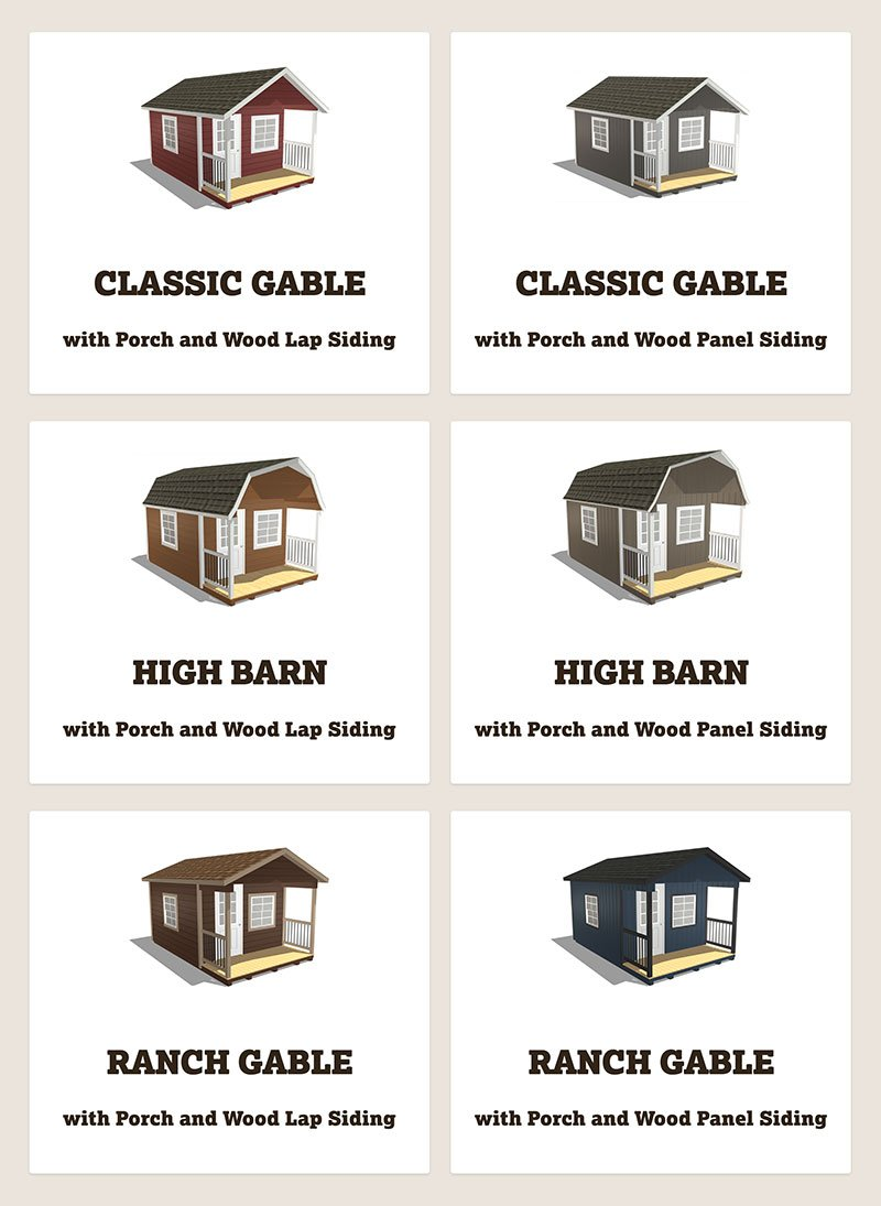 Customize Your Cabin Shed