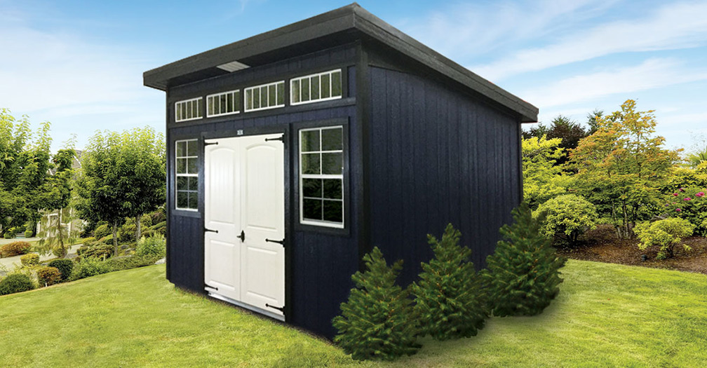 Our Modern Backyard Shed — A Chic Storage Solution