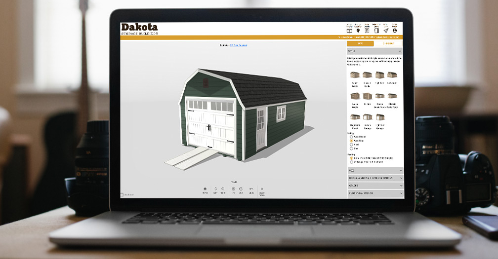 Design Custom Built Sheds & Garages with Our Online Configurator