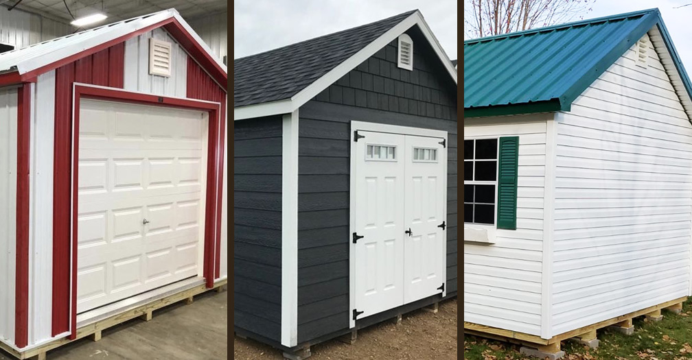 Metal, Wood or Vinyl: Which Siding is Best for Your Backyard Shed?