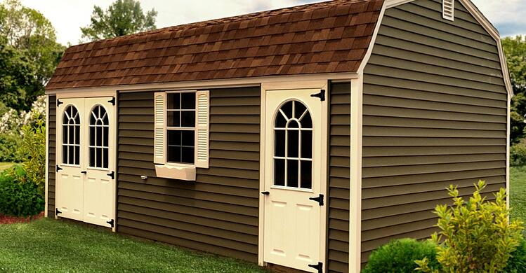 Backyard Shed Idea: Home Office