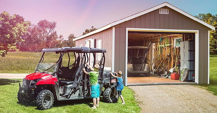 Storage Shed Placement Ideas & Tips: Where TO put your garage