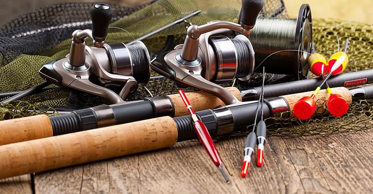 Learn how our recreation shed is perfect for fishing rod storage