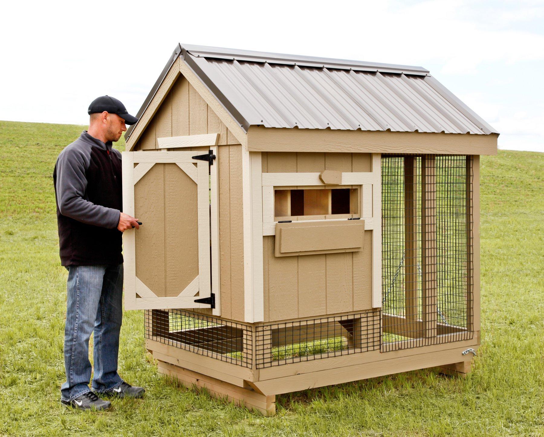 Ranch Combo_Backyard Chicken Coop