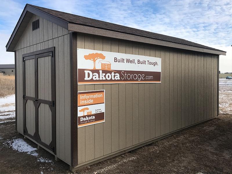 Dakota Storage Building S Breckenridge Minnesota Shed