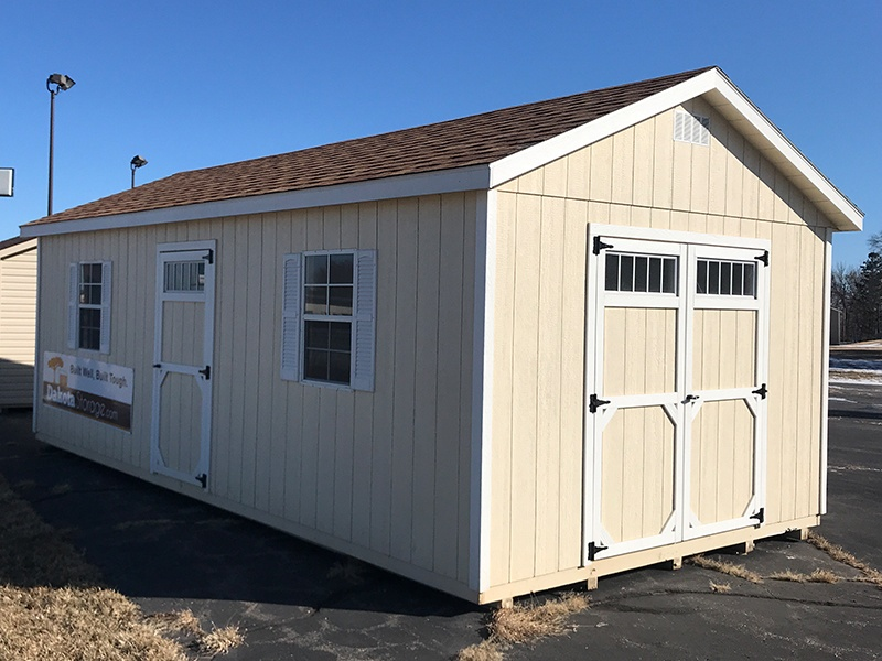 Visit our Kimball, MN shed display lot