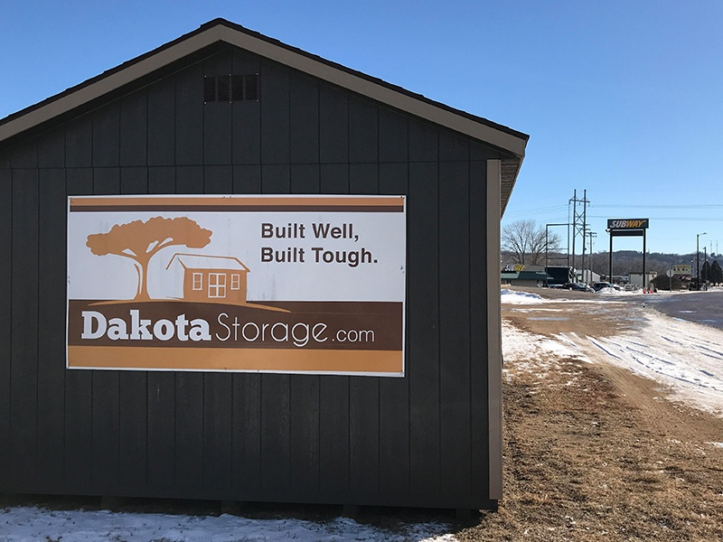 Dakota Storage Buildings' Mankato, MN Display Sheds