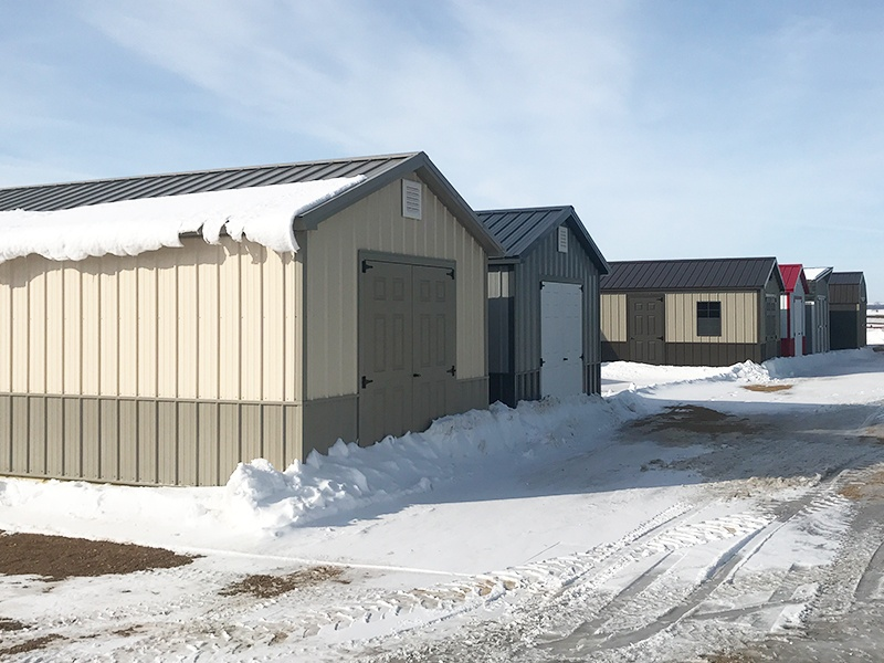 Visit our Milbank shed display lot too
