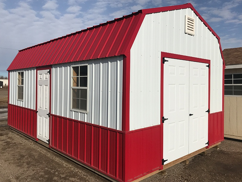 Dakota Storage Buildings' New Ulm, MN Display Sheds