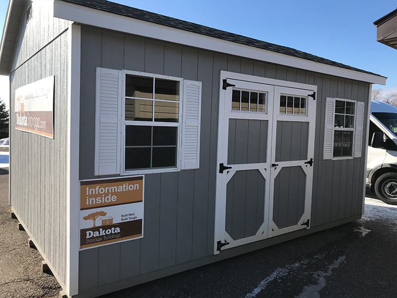 Visit our Monticello, MN shed display lot
