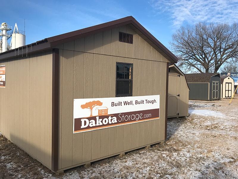 Dakota Storage Buildings Luverne Minnesota Shed Display Lot
