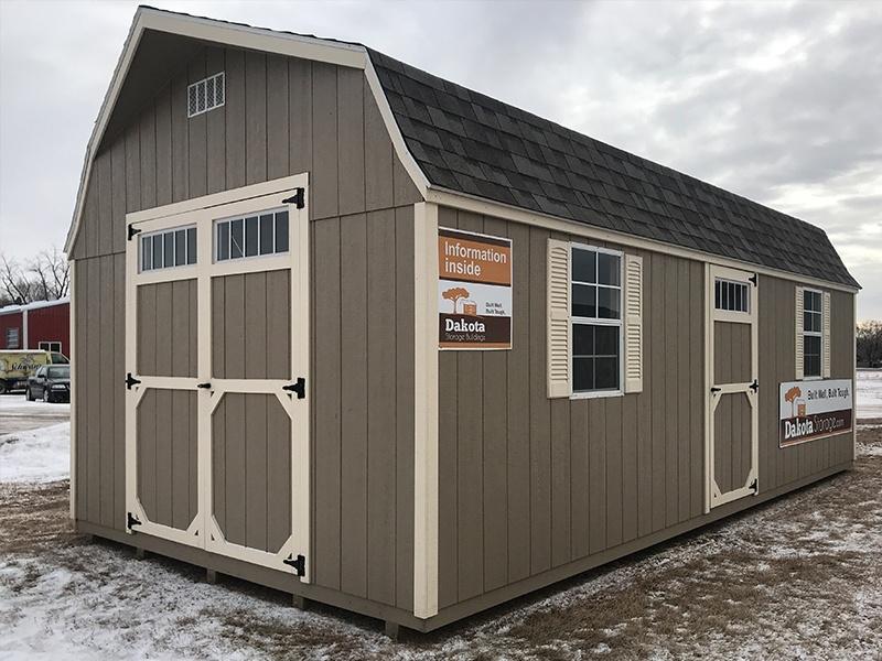 Sauk Centre, Minnesota shed lot