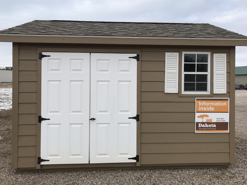 View our sheds at our St. Cloud, Minnesota location