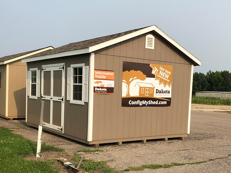 Want to see more sheds in person? Visit our Willmar displays