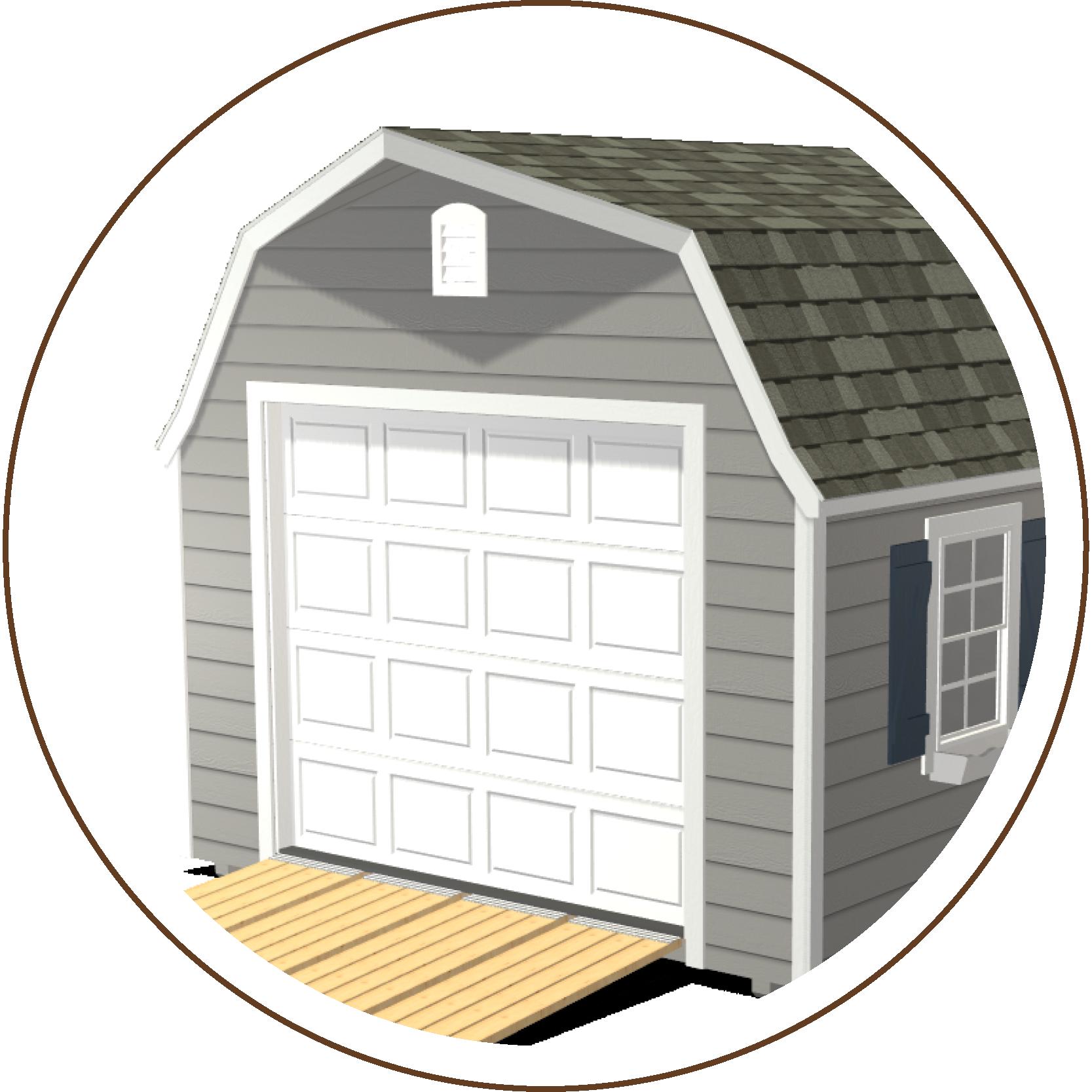 Ranch Gable or High Barn Roofline