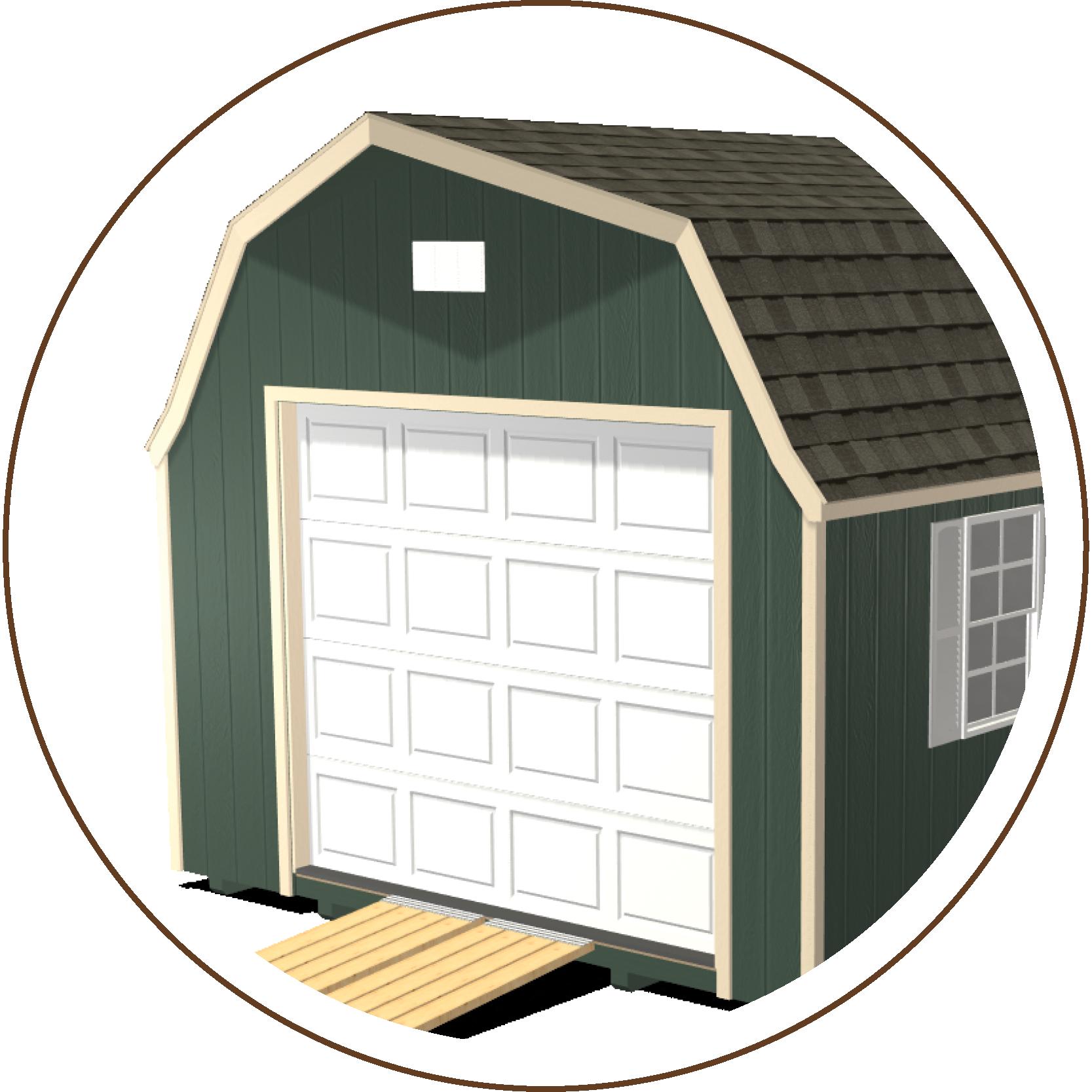 Ranch Gable Roofline or High Barn Roofline