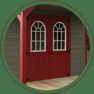 Fiberglass Double Door