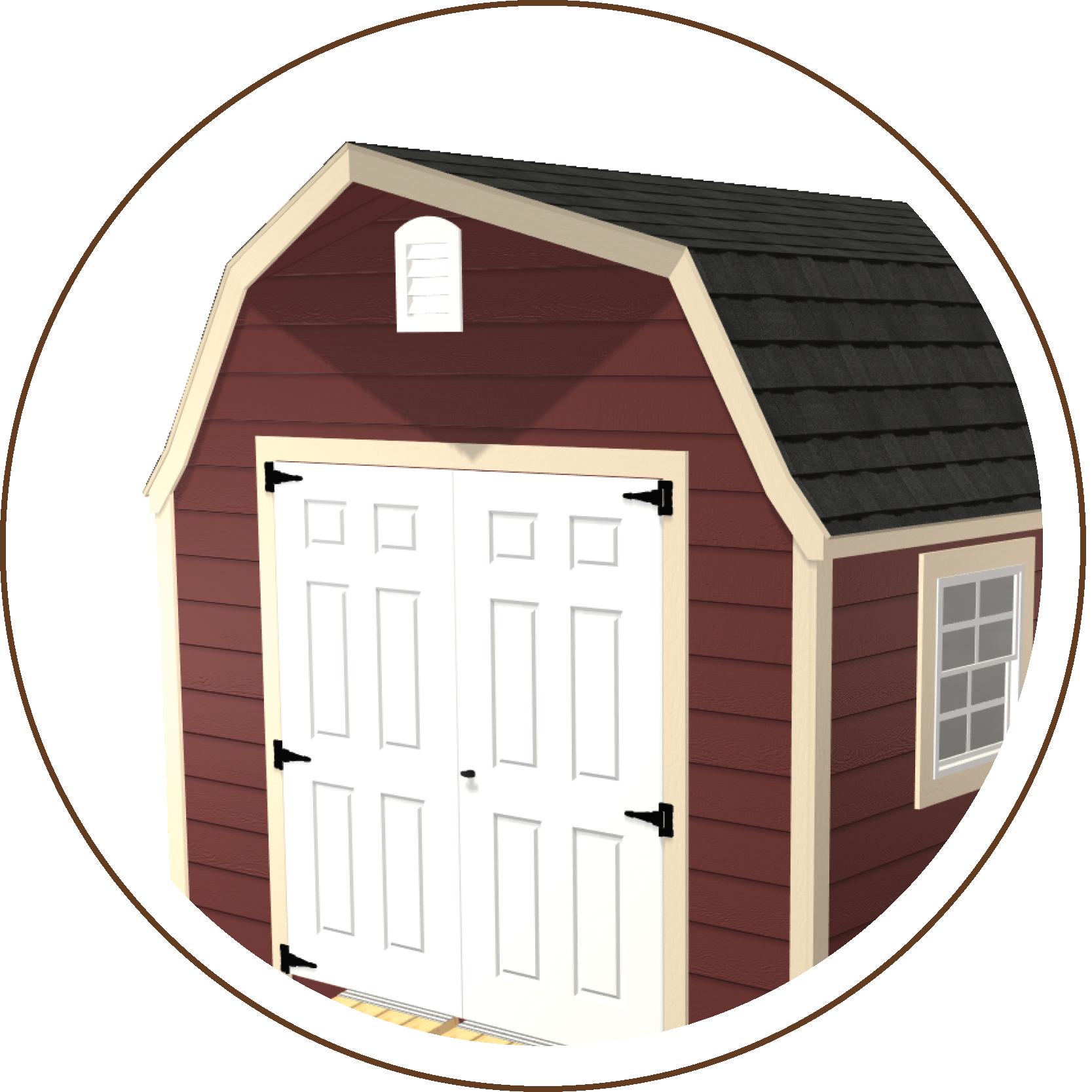 Classic Gable Roofline or High Barn Roofline