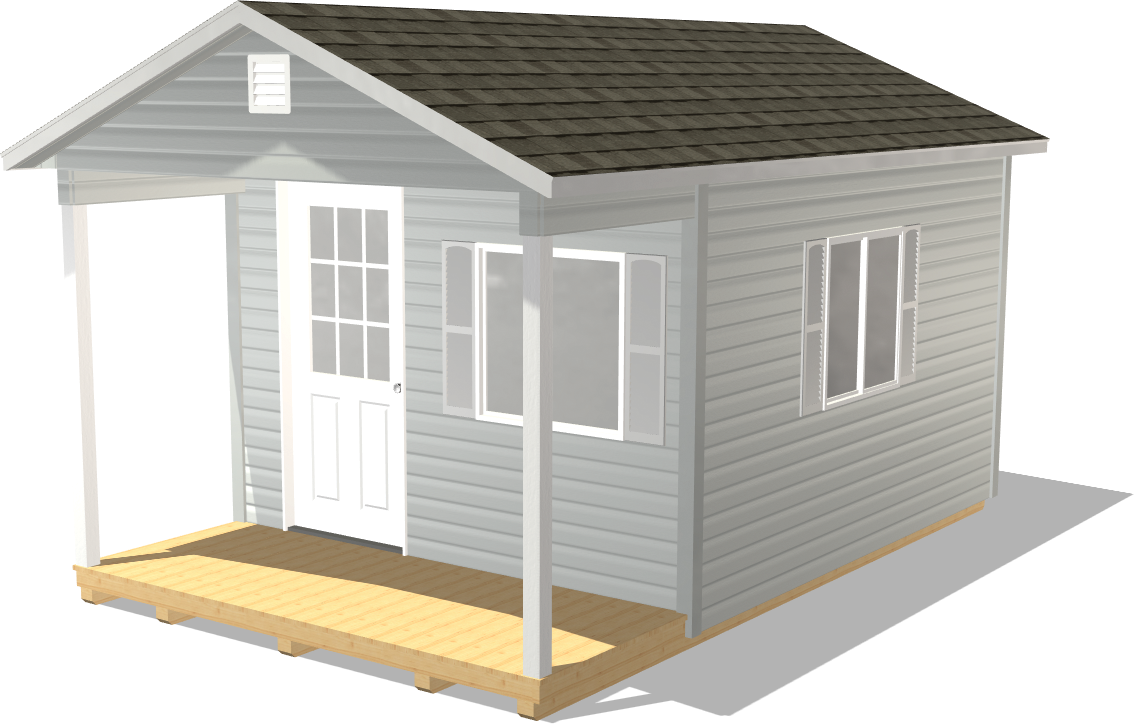 Dakota Storage offers a Ranch Gable as a great home addition substitute