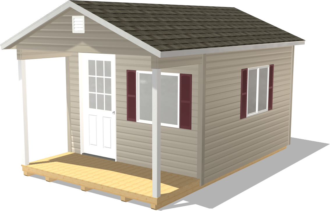 Our Ranch Gable is a trusted shed for keeping papers and electronics protected