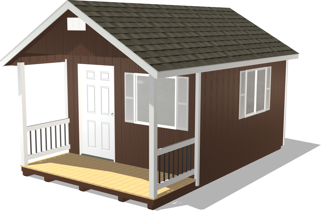 Create a custom man cave package with our shed configurator