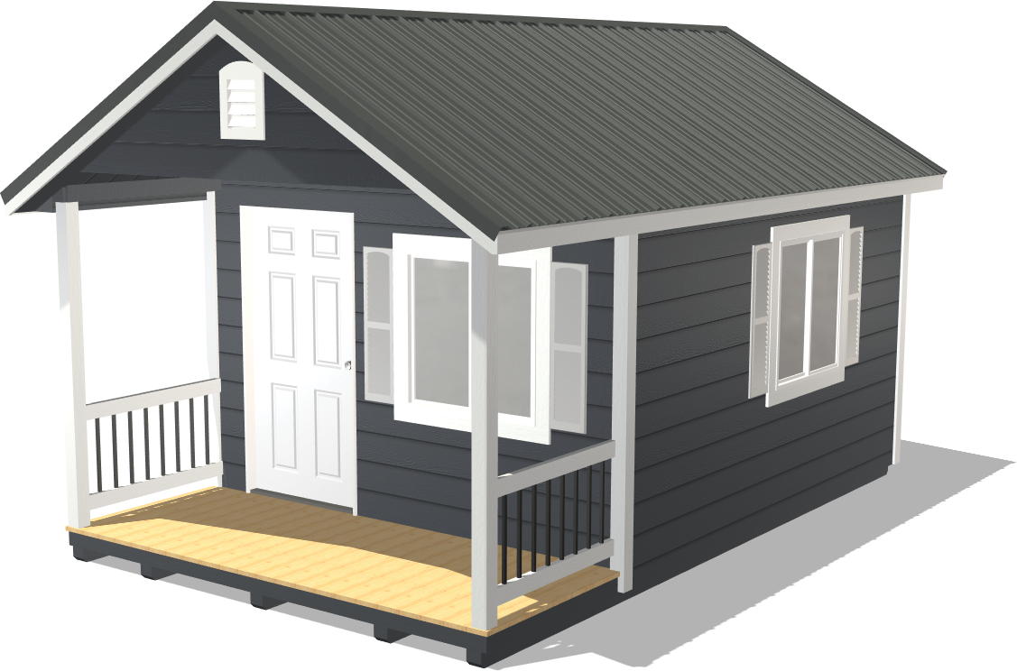 Create a custom shed for your man cave with our shed configurator