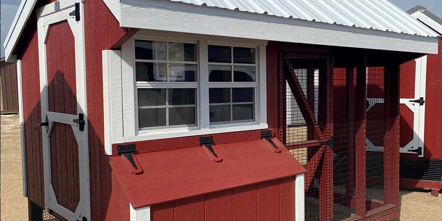 4 Reasons to Love Our Enclosed Chicken Coop