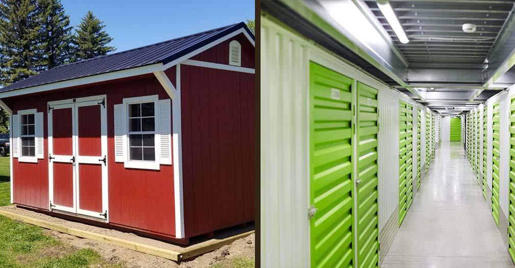 Which is Best: Storage Pod, Storage Unit, or Storage Shed?