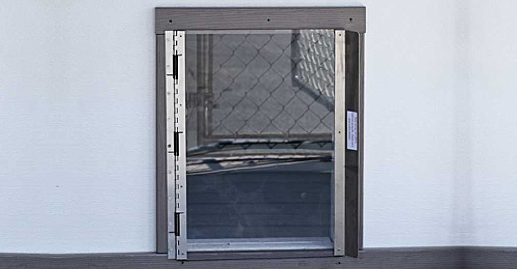 Kennel Dog Door