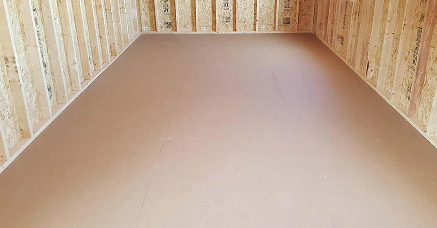 Backyard Shed XL Prostruct Flooring