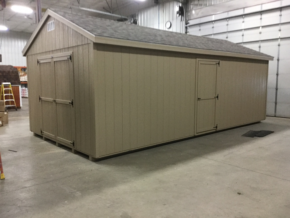 Basic Backyard Shed