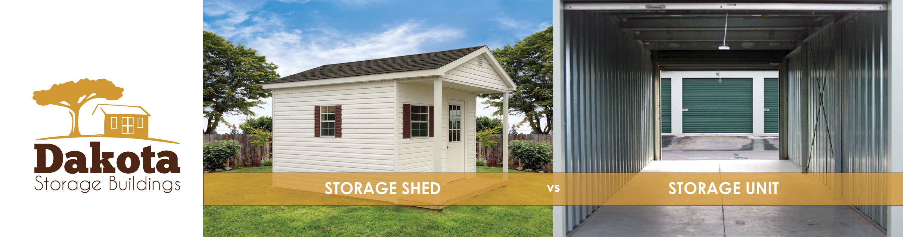 Storage Shed vs Storage Unit