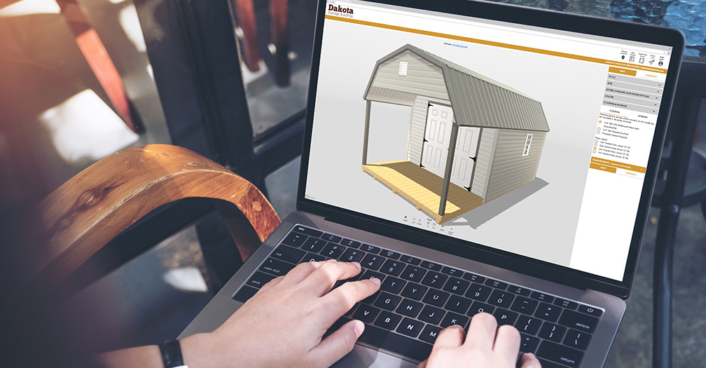 Create Your Own Custom Shed or Garage with Our 3D Configurator Tool