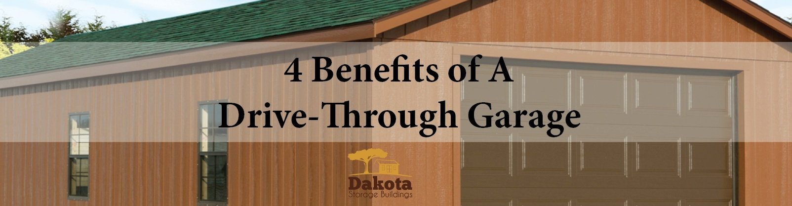 ​4 Benefits of A Drive-Through Garage