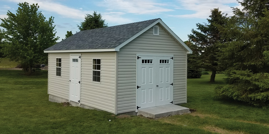 Backyard Shed Exterior