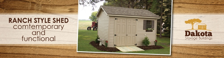 Benefits of Buying a Ranch Style Storage Shed