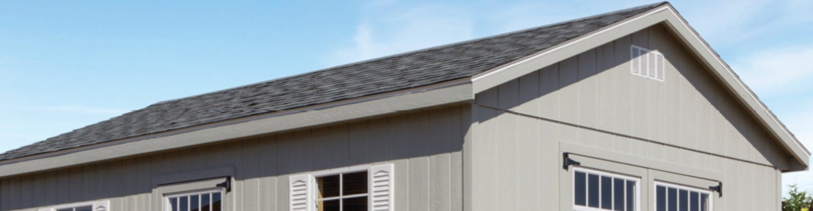Ranch Roofline: Our Most Popular Shed and Garage Style