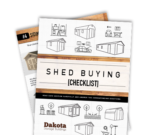 Shed Buying Checklist
