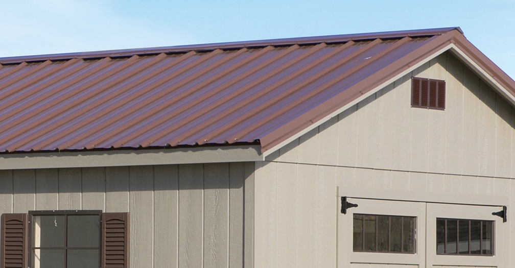 Long Creek's Tuff Rib Steel Roofing