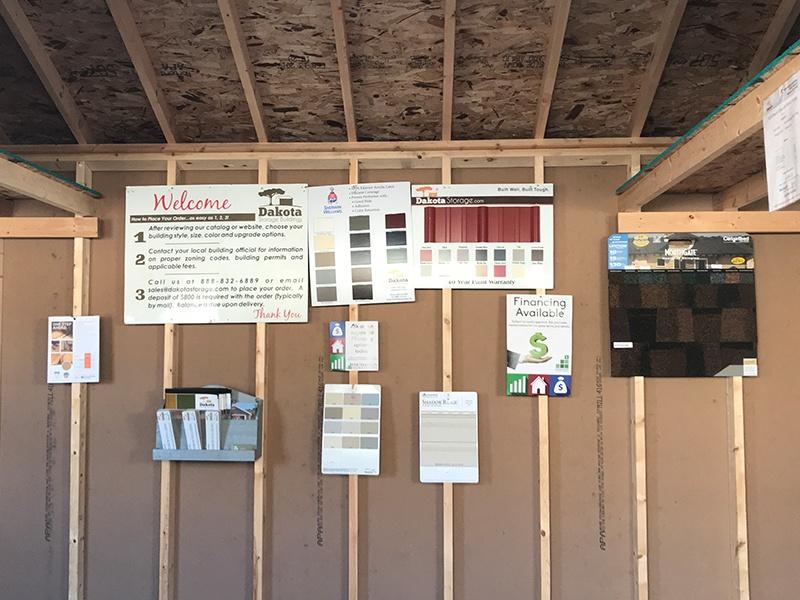 Dakota Storage Buildings' Monticello, Minnesota Shed Display Lot