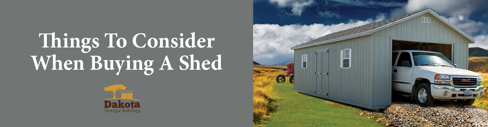 Things To Consider When Buying A Shed