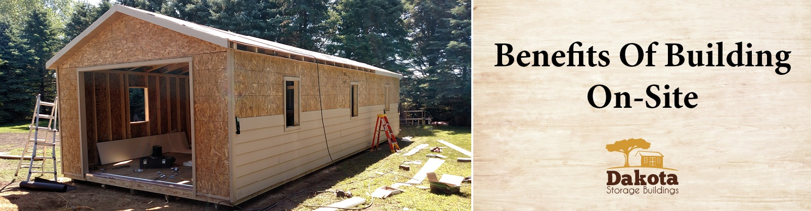 Benefits of Building a Garage or Shed On-Site​