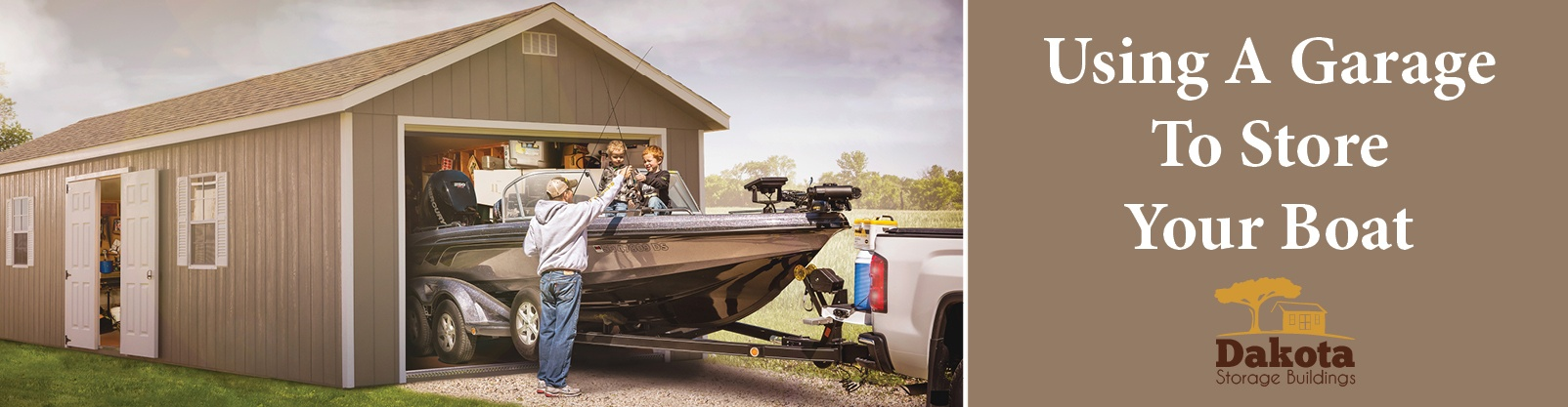 Using A Garage To Store Your Boat